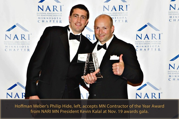 Hoffman Weber Scores NARI Contractor of the Year Honors for Exterior Facelift