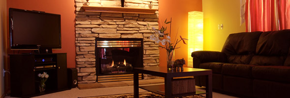 Cozy Up To A Gas Fireplace