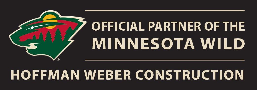 Official Partner of the Minnesota Wild Hoffman Weber Construction
