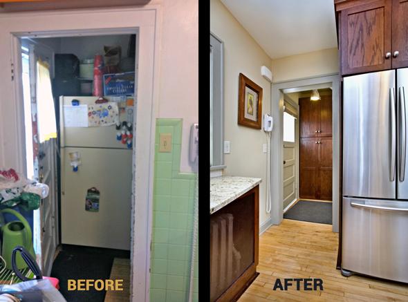 macgroveland kitchen remodel - entryway