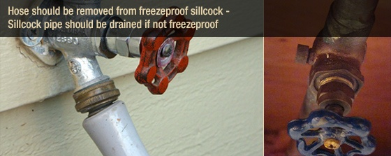 Freezeproof Sillcock Hose