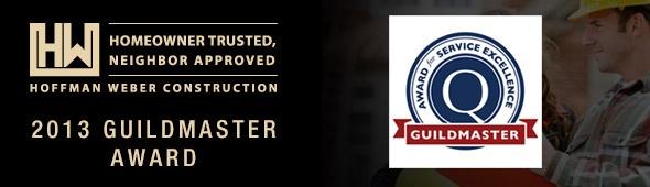 Hoffman Weber Construction Earns Prestigious 2013 Guildmaster Award