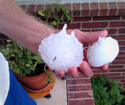 How Hail & Wind Damages Your Home's Siding