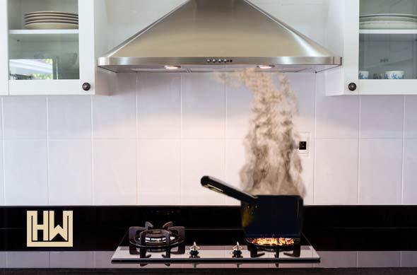 kitchen range hood exhaust fan