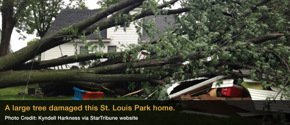 Minneapolis Storm Damage