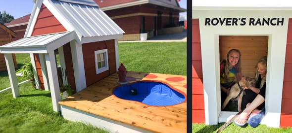 Win The Rover's Ranch dog house at the Fair