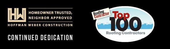 Top 100 Roofing Contractor Banner