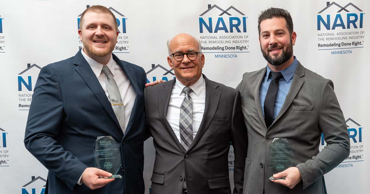 Exterior Contractor of the Year in 2019