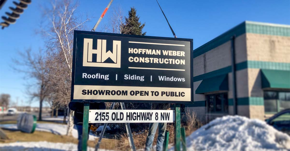 Hoffman Weber Showroom the Twin Cities Complete Exterior Remodeling Destination