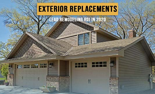 Exterior Replacements Lead Remodeling ROI in 2020