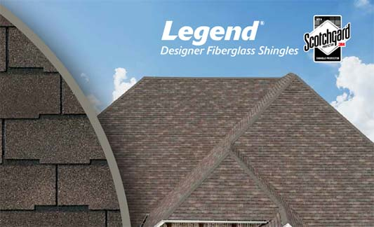 Atlas Roofing Legend Product Brochure