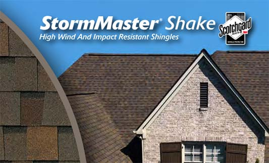 Atlas Roofing StormMaster Shake Product Brochure