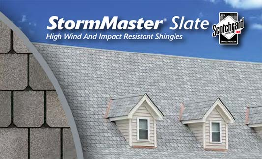 Atlas Roofing StormMaster Slate Product Brochure Thumb