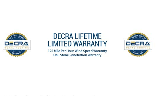 DECRA Roofing Limited Warranty Brochure