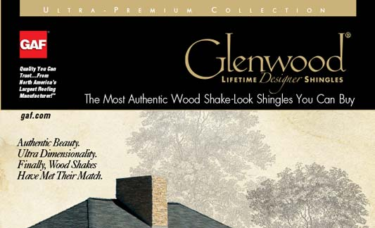 GAF Roofing Glenwood Brochure