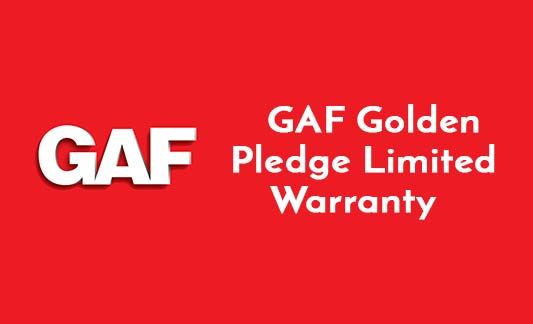 GAF Roofing Golden Pledge Limited Warranty Brochure