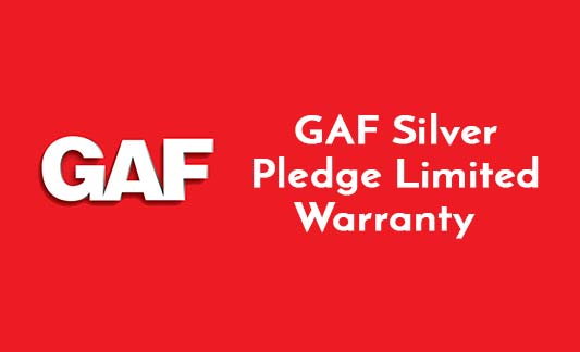 GAF Roofing Silver Pledge Limited Warranty Brochure