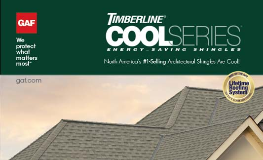 GAF Roofing Timberline Cool Series Brochure
