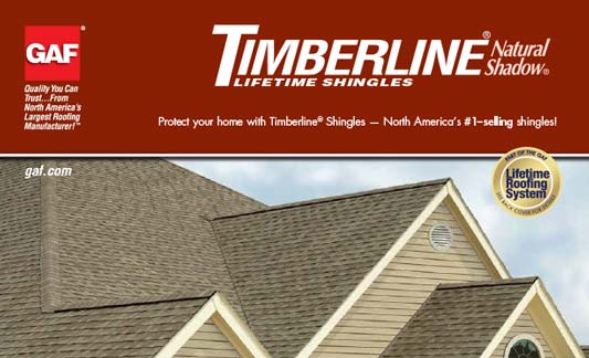 GAF Roofing Timberline Natural Shadow Brochure