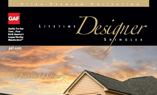 GAF Roofing Ultra Premium Designer Shingle Brochure