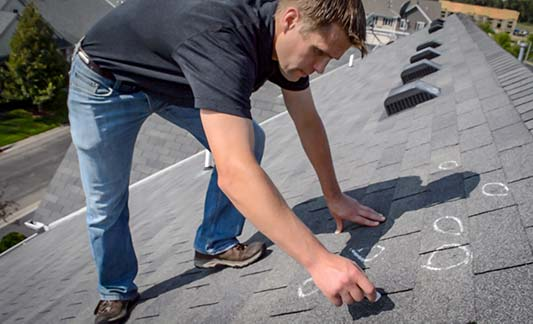 How Hail & Wind Damage Affects Your Roofing Shingles