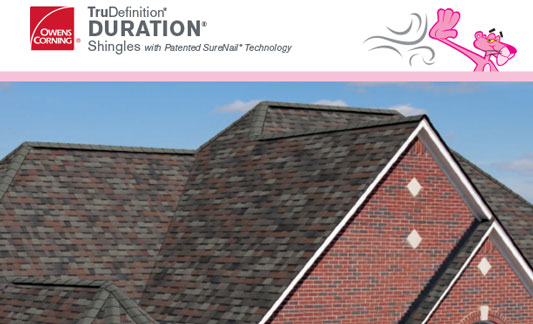 Owens Corning Roofing Duration Brochure