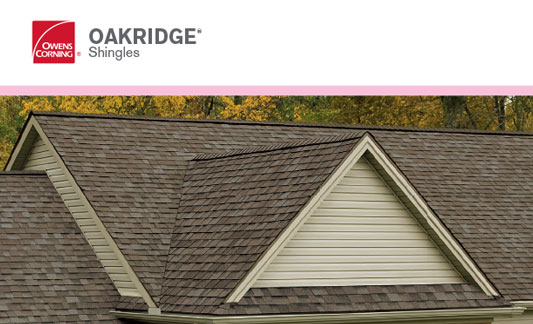 Owens Corning Roofing Oakridge Brochure