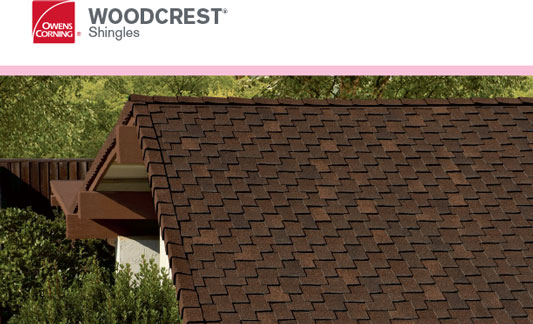 Owens Corning Roofing Woodcrest Brochure