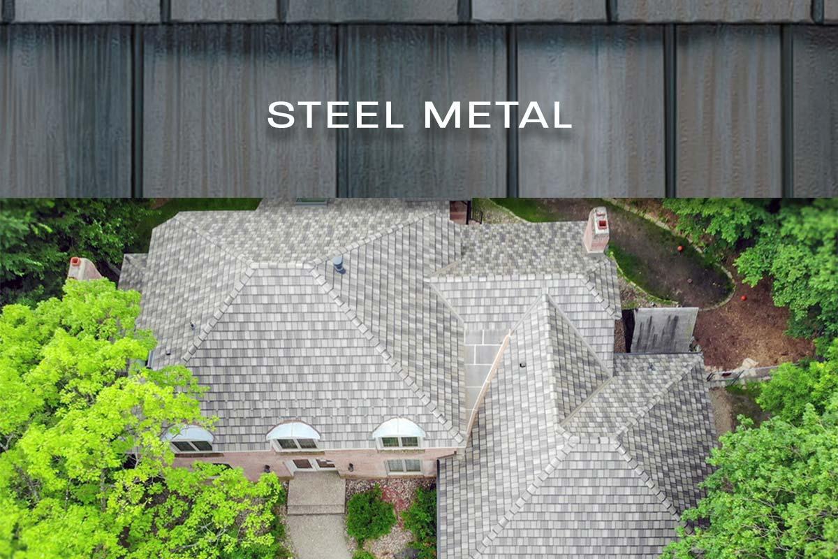 steel metal roof