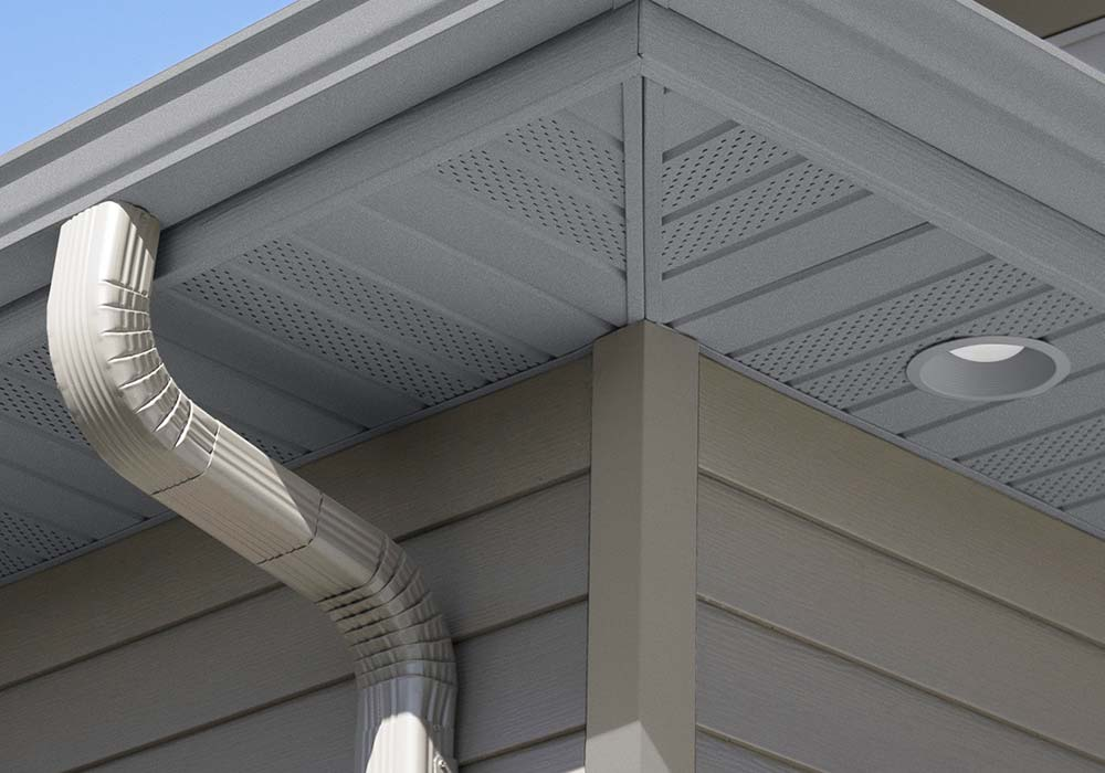 EDCO Soffit Fascia and Trim Charcoal Gray