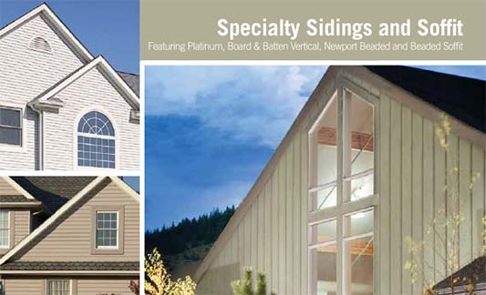 Kaycan Siding Specialty Brochure