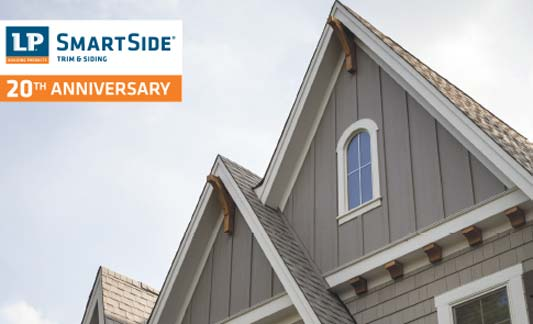 LP Siding Smartside Vertical Siding Brochure