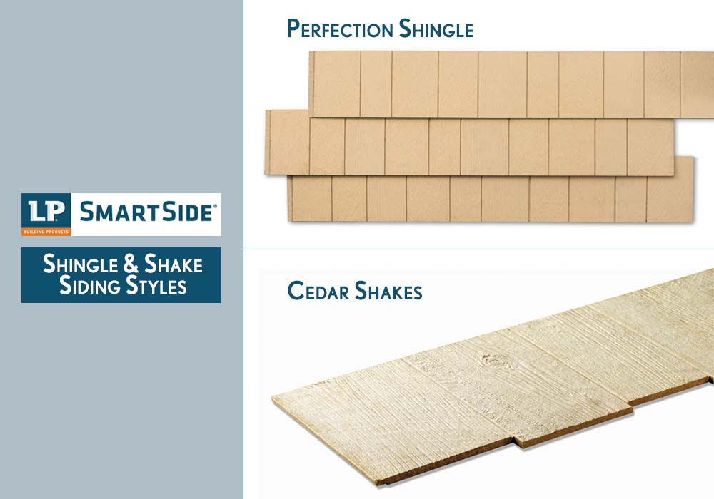 LP Smartside Shingles and Shakes Siding Products Styles