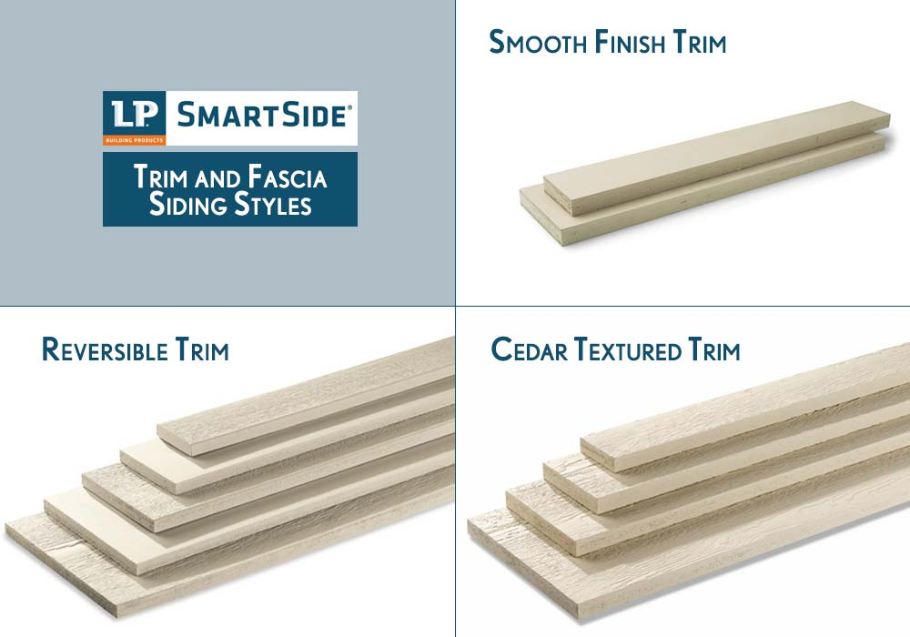 LP Smartside Trim and Fascia Siding Products Styles