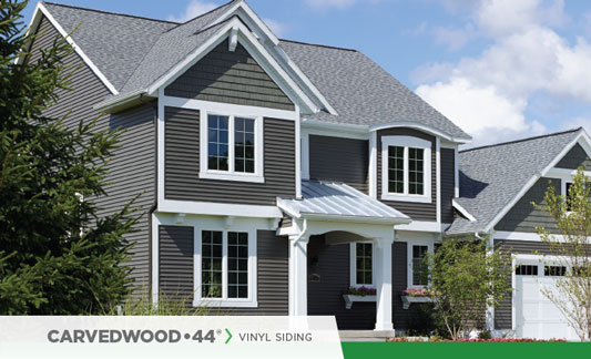 Mastic Siding Carvedwood 44 Brochure