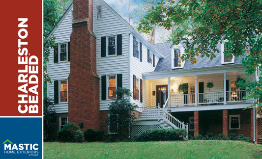 Mastic Siding Charleston Beaded Brochure
