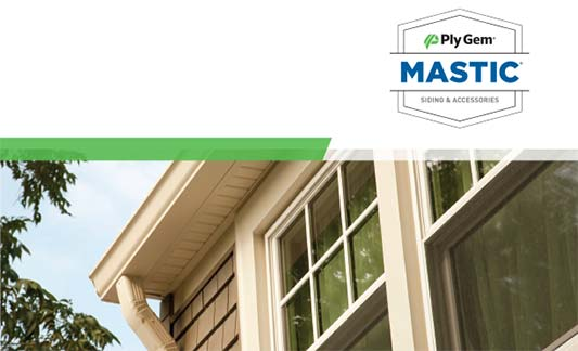 Mastic Siding Limited Warranty Brochure