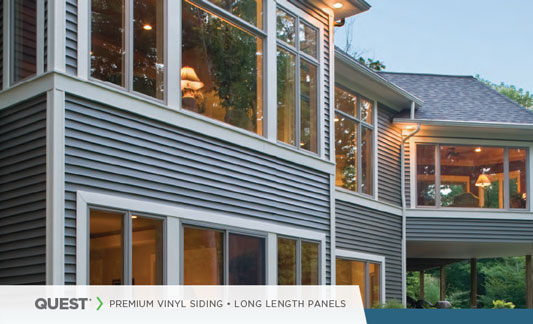Mastic Siding Quest Long Lengths Brochure