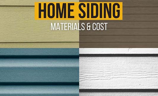 Home Siding Materials and Cost