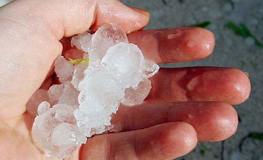 How Hail & Wind Damages Your Homes Siding