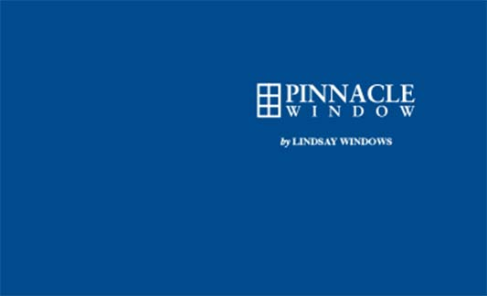 Lindsay Windows Pinnacle Limited Warranty Brochure