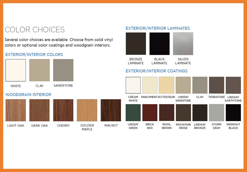 Lindsay Windows SunView Colors