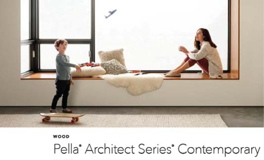 Pella Windows Contemporary Wood Brochure