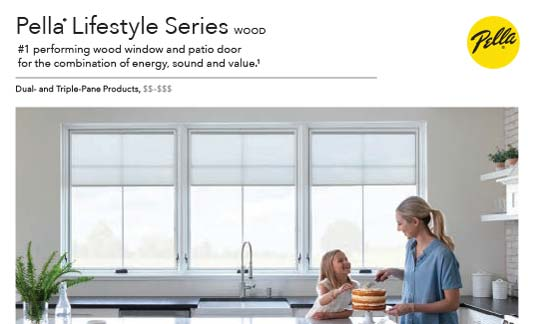 Pella Windows Lifestyle Series Brochure