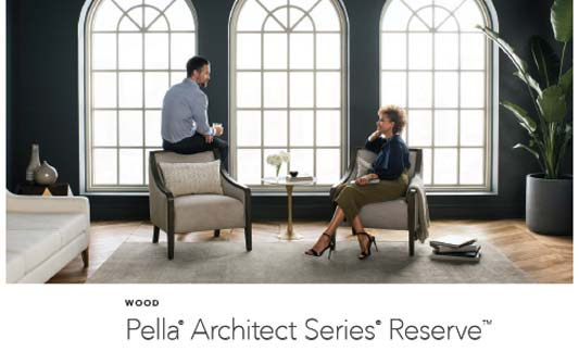 Pella Windows Reserve Wood Brochure
