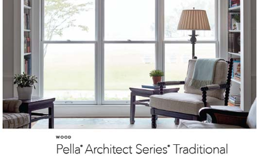 Pella Windows Traditional Wood Brochure