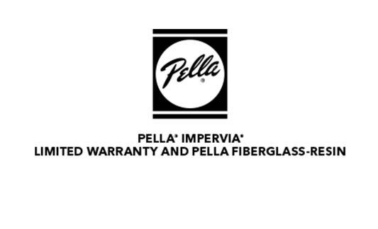 Pella Windows and Doors Fiberglass Windows and Patio Doors Limited Warranty Brochure