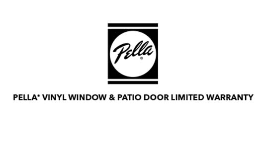 Pella Windows and Doors Vinyl Windows and Patio Doors Limited Warranty Brochure Thumb