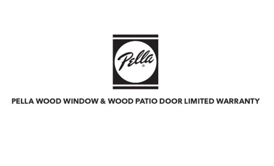 Pella Windows and Doors Wood Windows and Patio Doors Limited Warranty Brochure