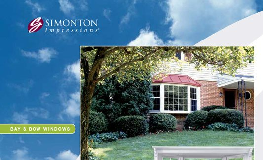 Simonton Windows Impressions Bay and Bow Brochure